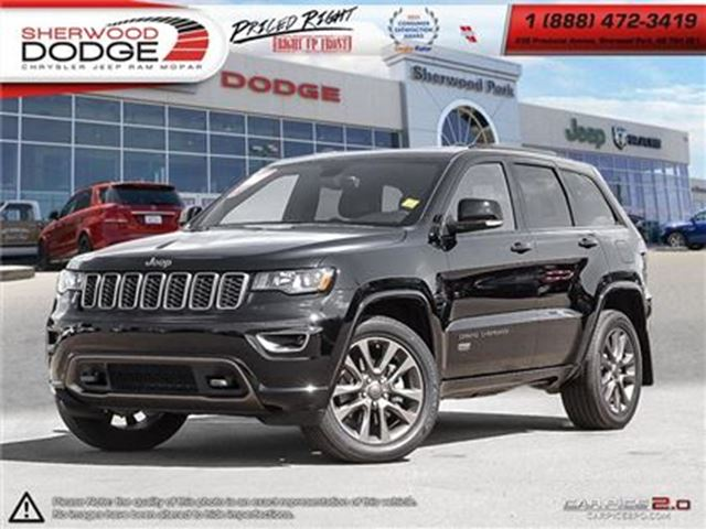 2017 JEEP GRAND CHEROKEE LIMITED   UCONNECT   HEATED SEATS   BLUETOOTH in Sherwood Park, Alberta