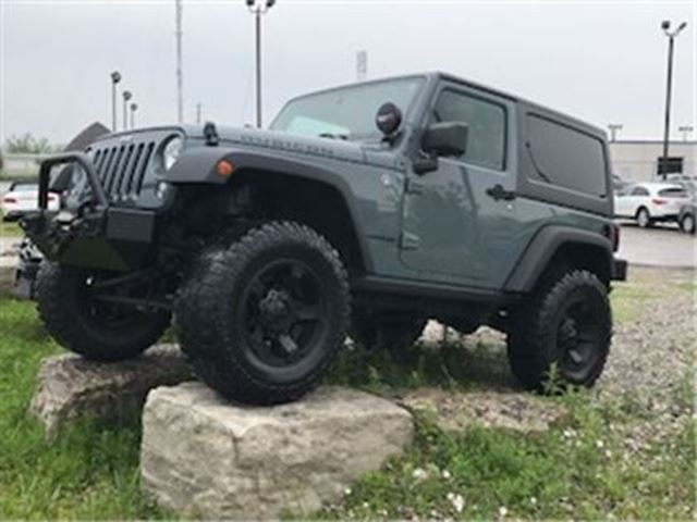 2015 JEEP WRANGLER Rubicon Lifted all customised winch in Guelph, Ontario