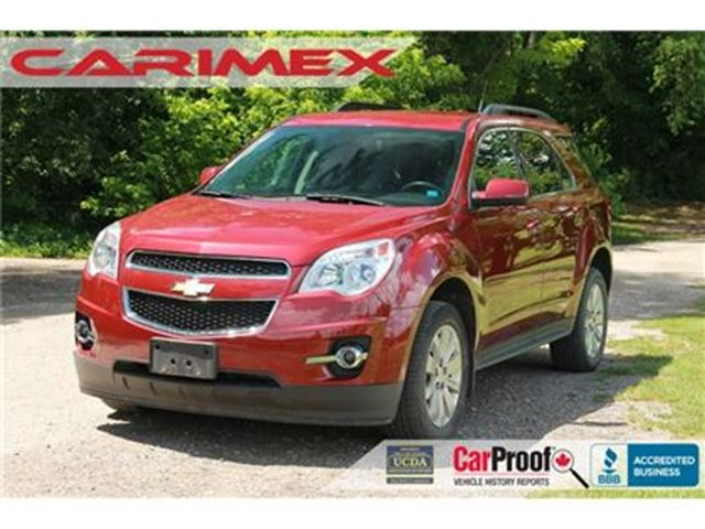 2012 CHEVROLET EQUINOX 1LT V6 AWD   CERTIFIED in Kitchener, Ontario