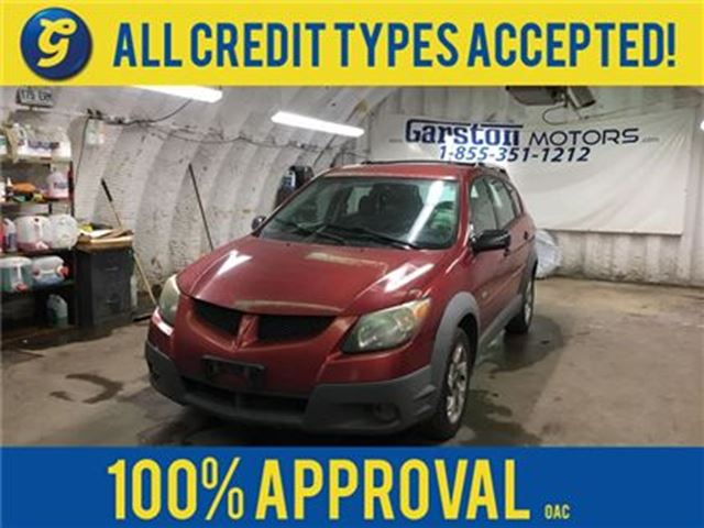 2003 Pontiac Vibe *****AS IS CONDITION AND APPEARANCE*****KEYLESS EN in Cambridge, Ontario