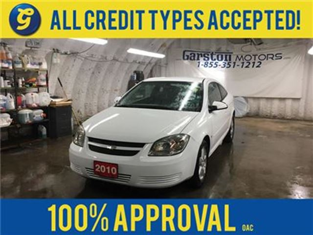 2010 Chevrolet Cobalt LT*COUPE*KEYLESS ENTRY w/REMOTE START*POWER WINDOW in Cambridge, Ontario
