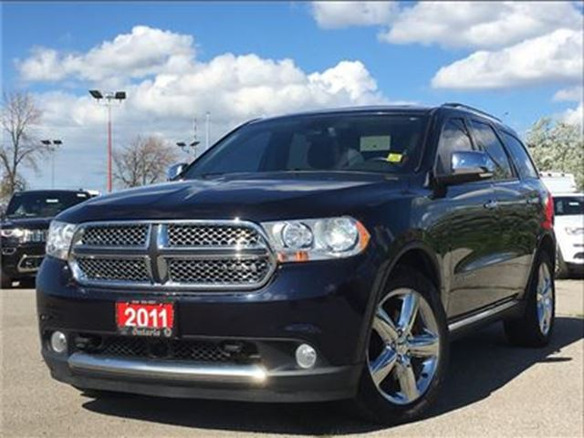 2011 Dodge Durango CITADEL**LEATHER**SUNROOF**DVD**NAV**BACK UP CAM** in Mississauga, Ontario