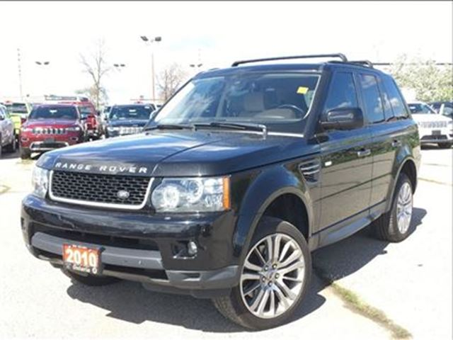 2010 LAND ROVER RANGE ROVER Sport HSE**LEATHER**NAV**BACK UP CAM**SUNROOF** in Mississauga, Ontario