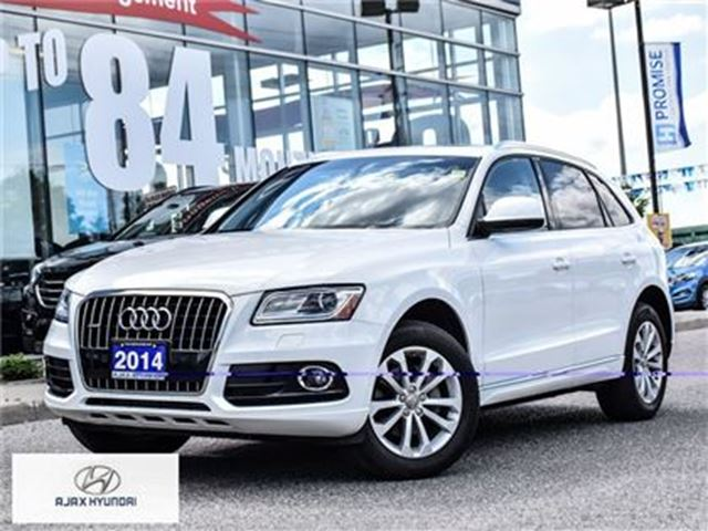 2014 AUDI Q5 2.0 Progressiv   One Owner   Accident Free in Ajax, Ontario