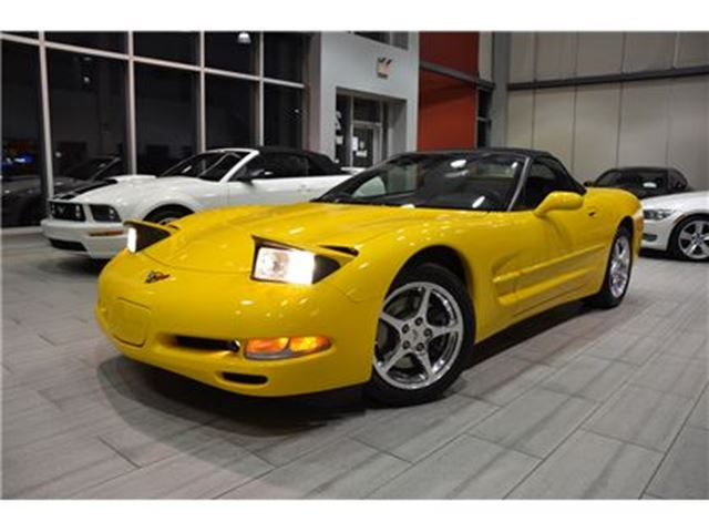 2001 Chevrolet Corvette (C5) 6-Speed Manual With Only 9.660 Kms! in Oakville, Ontario