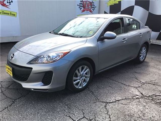 2013 MAZDA MAZDA3 GX, Automatic, Steering Wheel Controls, 64, 000km in Burlington, Ontario