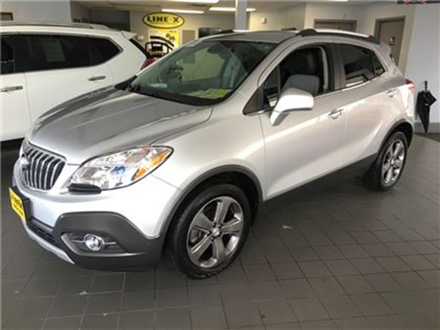 2013 BUICK ENCORE Automatic, Sunroof, Only 37,000km in Burlington, Ontario