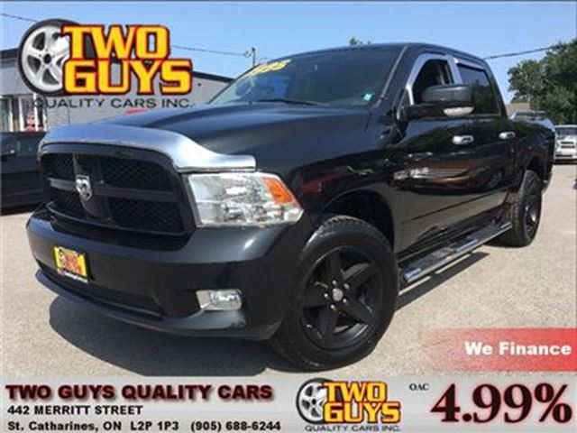 2009 Dodge RAM 1500 SXT NEW TIRES  NICE LOCAL TRADE IN! in St Catharines, Ontario