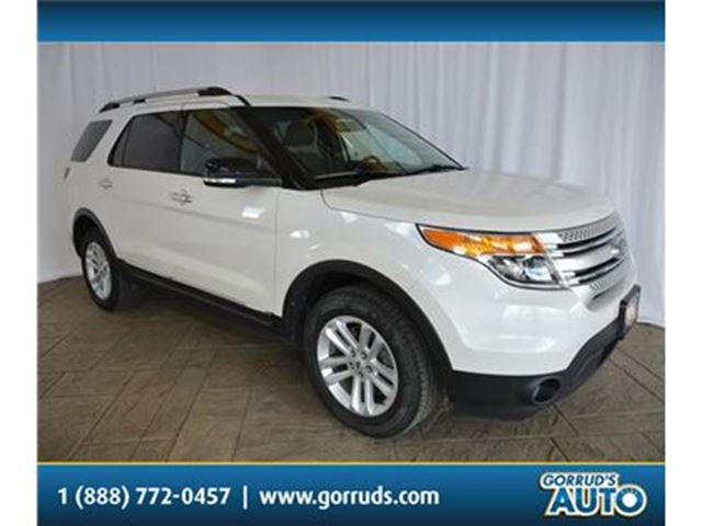 2015 Ford Explorer XLT/4X4/NAV/BLUETOOTH/CAMERA/LEATHER in Milton, Ontario