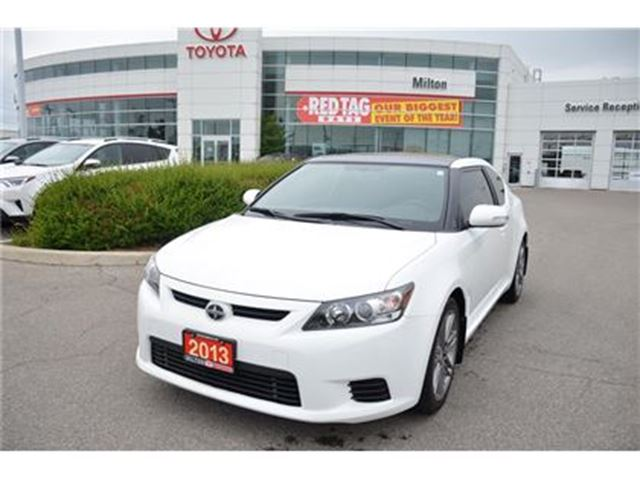 2013 SCION TC Automatic, Bluetooth, 4 Newer Tires in Milton, Ontario