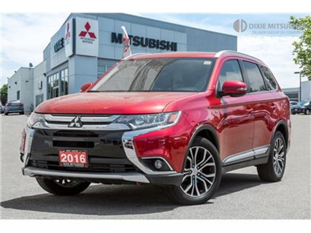 2016 Mitsubishi Outlander GTS  NAVI   LANE DEPARTURE   POWER LIFT in Mississauga, Ontario
