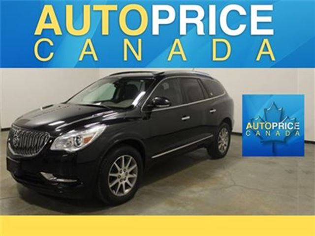 2014 BUICK ENCLAVE LEATHER NAVIGATION REAR CAM in Mississauga, Ontario