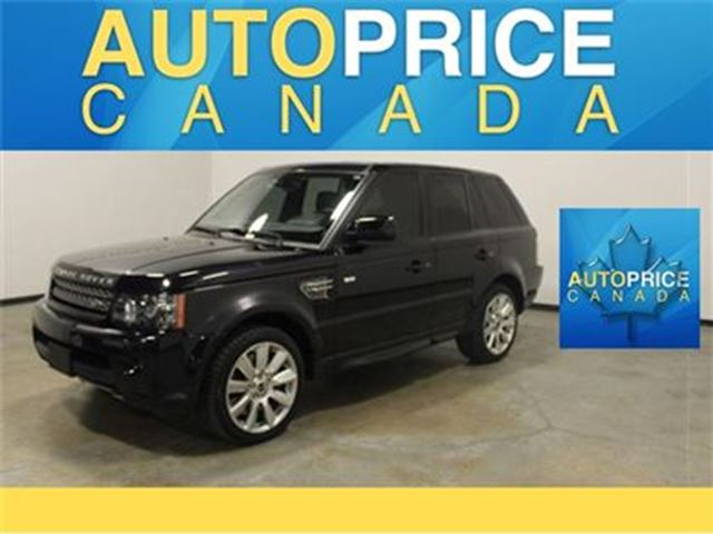 2012 LAND ROVER RANGE ROVER Sport Supercharged NAVIGATION in Mississauga, Ontario