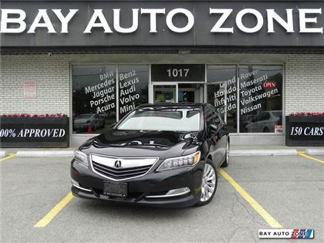 2014 Acura RLX TECHNOLOGY PKG NAVI BACK UP CAM LEATHER SUNROOF in Toronto, Ontario