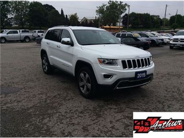 2015 JEEP GRAND CHEROKEE Limited in Arthur, Ontario