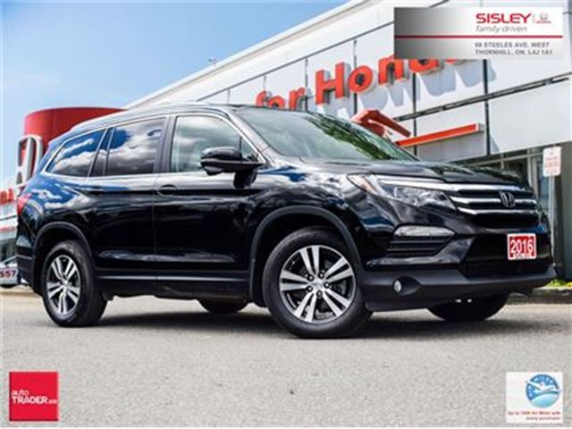2016 Honda Pilot EX-L w/NAVI - Navigation, Leather, No Accident in Thornhill, Ontario