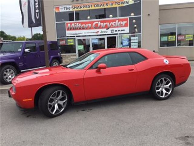2016 Dodge Challenger R/T LEATHER NAVIGATION in Milton, Ontario