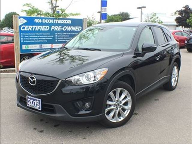 2015 MAZDA CX-5 GT, LEATHER SEATS, SUNROOF, REARCAM in Mississauga, Ontario