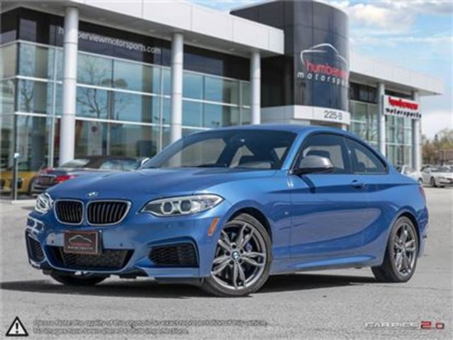 2016 BMW M235i xDrive,M performance1&2,Navi,Camera,Sunroof in Mississauga, Ontario