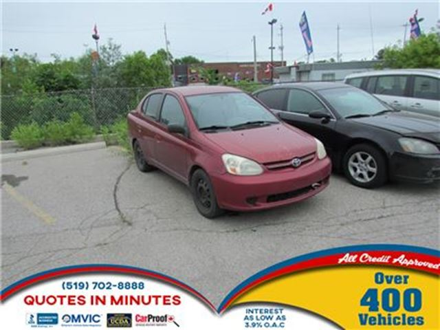 2003 Toyota ECHO FRESH TRADE-IN   AS-IS SPECIAL in London, Ontario