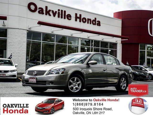 2006 Nissan Altima 4Dr Sedan 2.5 SL at in Oakville, Ontario
