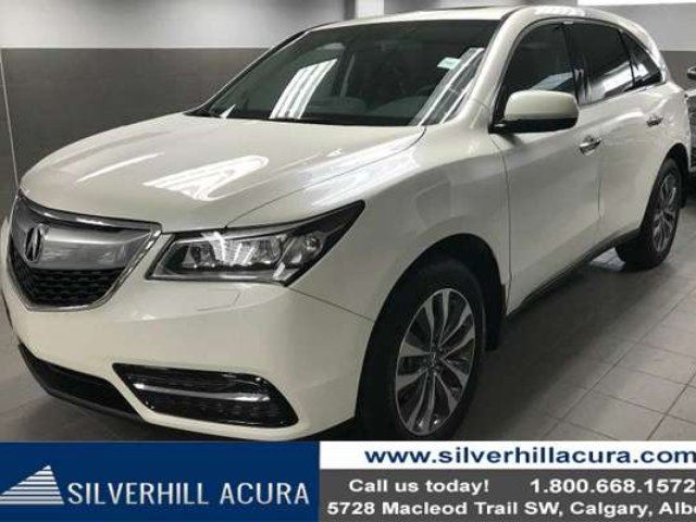 2014 ACURA MDX Navigation Package SH-AWD *Tires 90%, Diff & Brake Fluid Replaced* in Calgary, Alberta