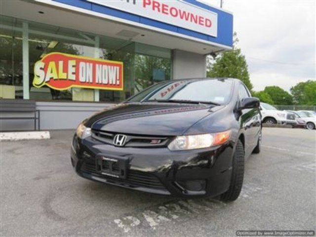 2008 Honda Civic SI in Vancouver, British Columbia