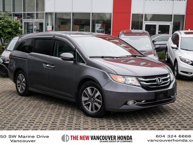 2014 Honda Odyssey Touring in Vancouver, British Columbia