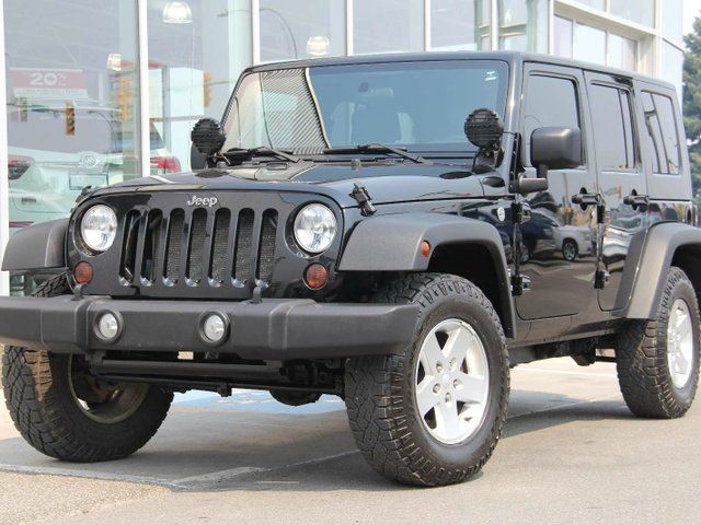 2010 JEEP WRANGLER Unlimited Sport in Kamloops, British Columbia