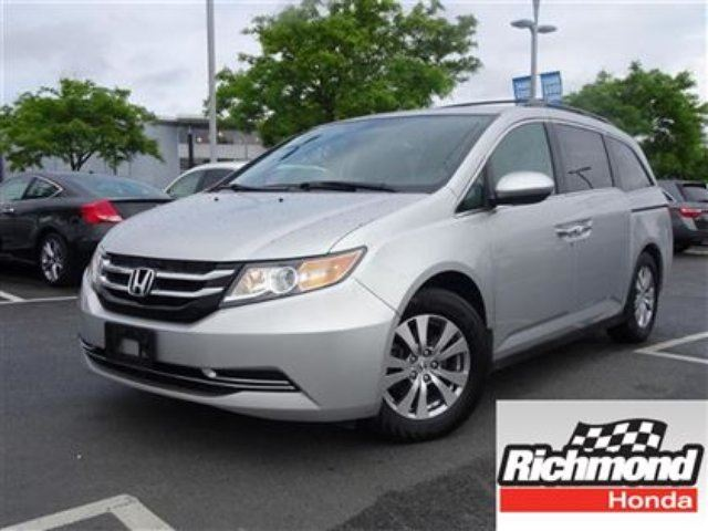 2014 Honda Odyssey EX! Honda Certified Extended Warranty to 120, 000 in Richmond, British Columbia