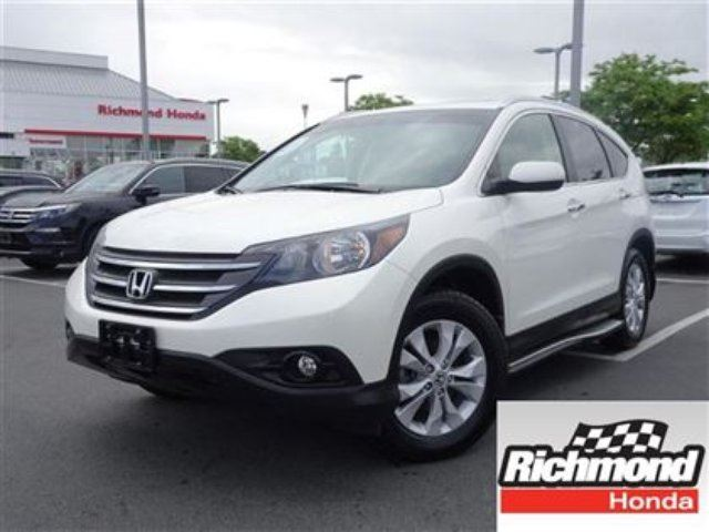 2013 HONDA CR-V Touring! Honda Certified Extended Warranty to 120 in Richmond, British Columbia