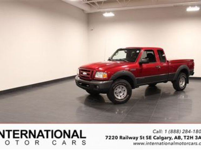2007 Ford Ranger FX4 LEVEL 2! 4X4! LOADED! in Calgary, Alberta