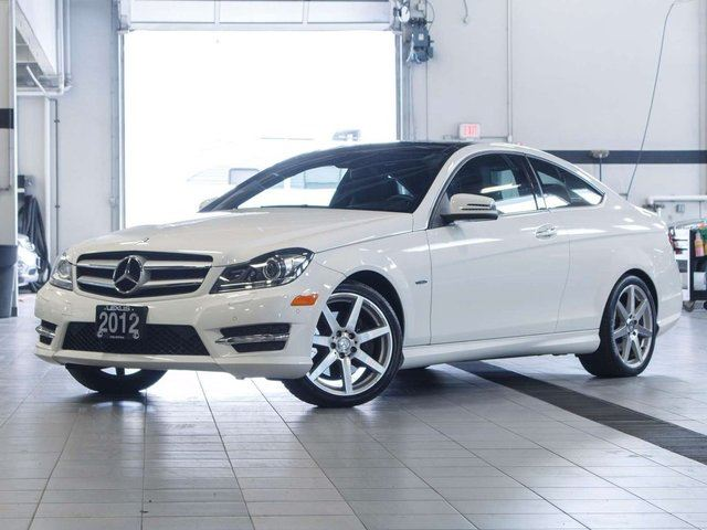 2012 Mercedes-Benz C-Class Premium Coupe in Kelowna, British Columbia