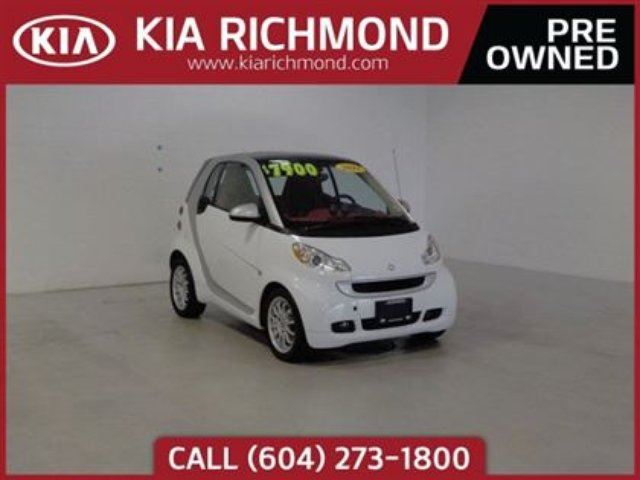 2011 SMART FORTWO Passion in Richmond, British Columbia