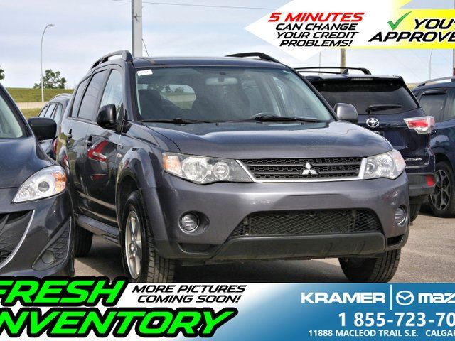 2009 MITSUBISHI OUTLANDER 4WD 3.0L V6 *GREAT SHAPE* in Calgary, Alberta