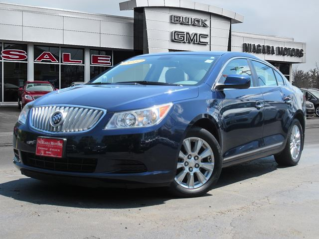 2010 Buick LaCrosse CXL V6 ** ONE Owner!  Purchased, serviced AND t in Virgil, Ontario