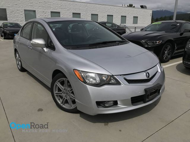 2009 ACURA CSX A/T VTech Local Leather Sunroof Cruise Control  in Port Moody, British Columbia