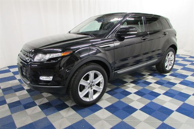 2013 LAND ROVER RANGE ROVER EVOQUE Pure AWD/BACKUP CAM/MEMORY SEATS/LEATHER in Winnipeg, Manitoba