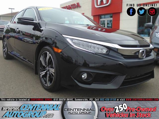2016 Honda Civic Touring in Summerside, Prince Edward Island