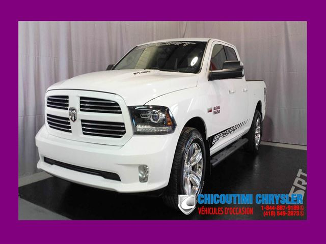 2014 Dodge RAM 1500 Quad Cab Sport 4x4 6''4 in Chicoutimi, Quebec