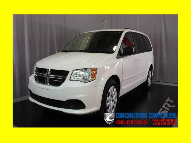 2014 Dodge Grand Caravan SXT Stow'N Go Bluetooth in Chicoutimi, Quebec
