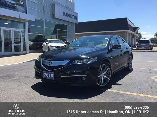 2015 Acura TLX Elite Elite All Wheel Drive , Super low Kms! in Hamilton, Ontario