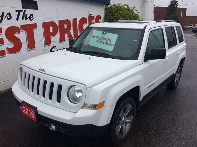 2016 JEEP PATRIOT Sport/North HIGH ALTITUDE PKG, SUNROOF, LEATHER INTERIOR in Oshawa, Ontario