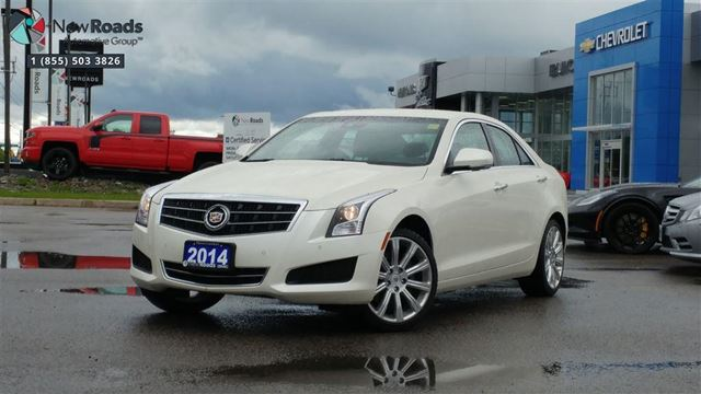 2014 CADILLAC ATS 2.0L Turbo Luxury 2.0L Turbo Luxury, AWD, ONE OWNER, NO ACCIDENT in Newmarket, Ontario