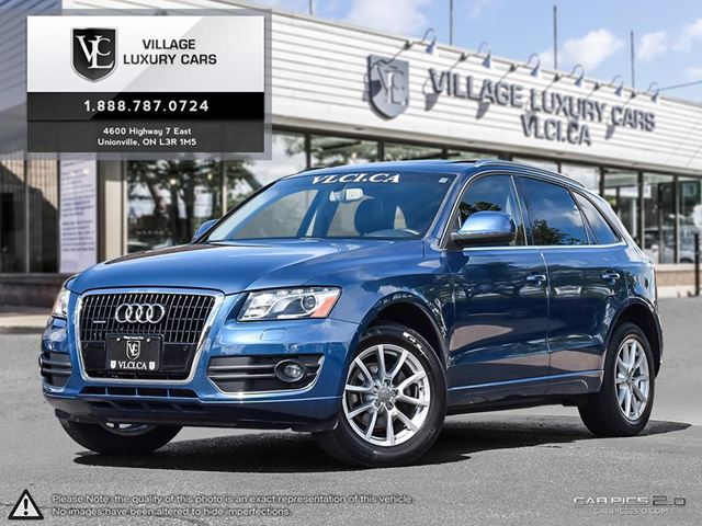 2010 AUDI Q5 3.2 Premium NAVIGATION | REAR CAMERA | BLIND SPOT ASSIST | PANORAMIC ROOF | NEW BRAKES in Markham, Ontario