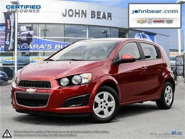 2014 Chevrolet Sonic LS in St Catharines, Ontario
