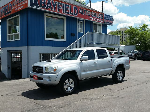 2008 TOYOTA TACOMA TRD Sport Double Cab 4x4 **6 Speed Manual** in Barrie, Ontario