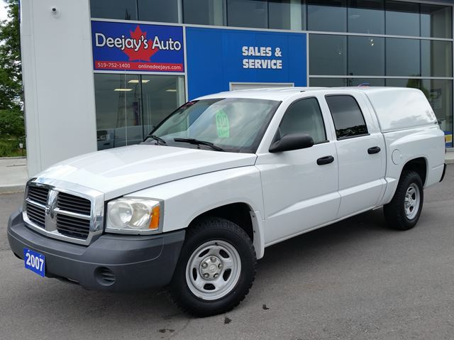 2007 Dodge Dakota ST 4x4 w/color match ARE rear cap in Brantford, Ontario