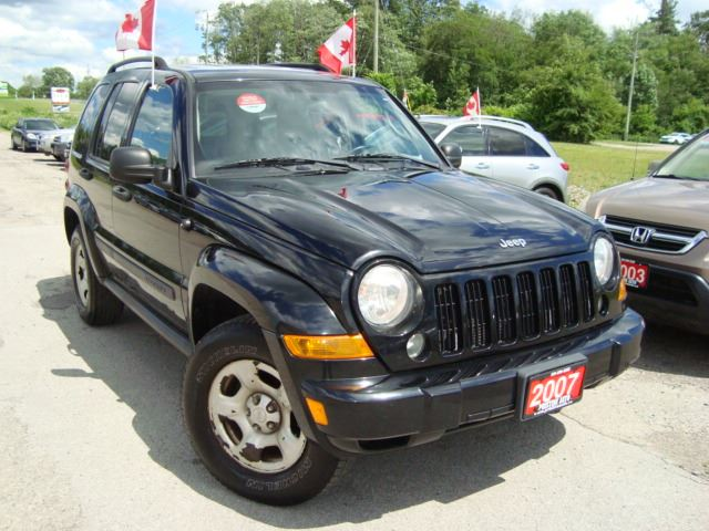 2007 Jeep Liberty Sport 4X4 Rust & Rust Free in Cambridge, Ontario