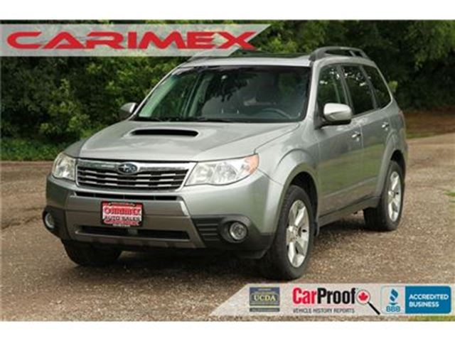 2009 SUBARU FORESTER 2.5 XT Limited   AWD   CERTIFIED + E-Tested in Kitchener, Ontario
